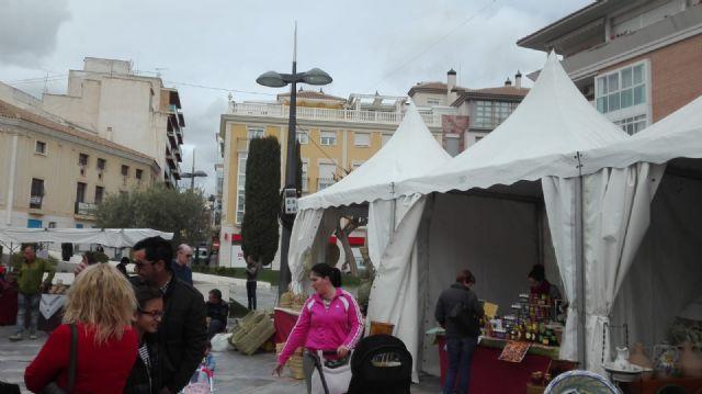 La II Muestra Artesana ha presentado este fin de semana productos alfareros y oficios artesanos varios a los visitantes, Foto 3