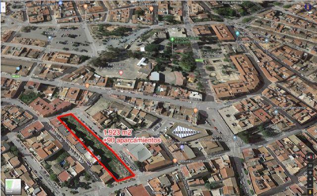 El centro urbano contará con un centenar de nuevas plazas de aparcamiento gratuito, Foto 1