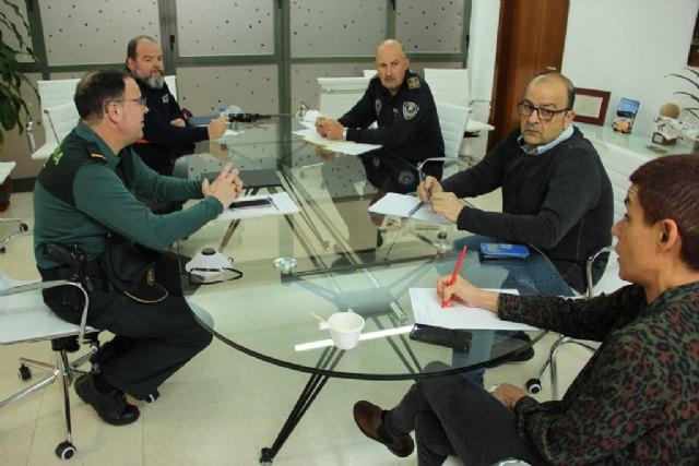 Nueva reunión de la Mesa de Coordinación Policial de Beniel - 1, Foto 1
