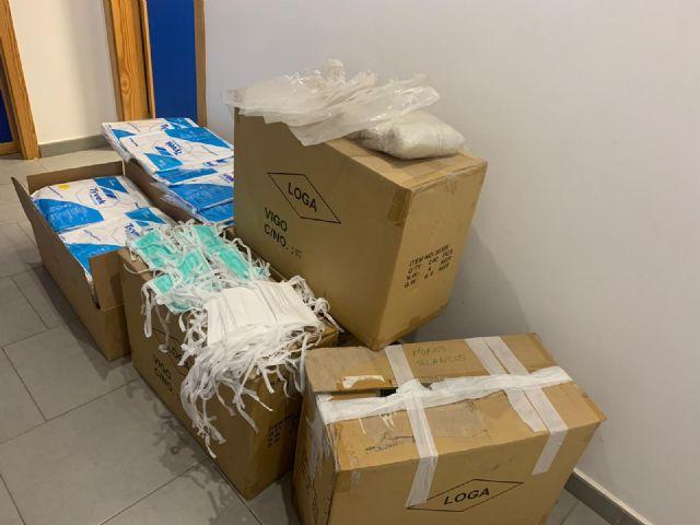 El Ayuntamiento de Lorca entrega 5.000 mascarillas protectoras a la gerencia del Área III de Salud - 3, Foto 3
