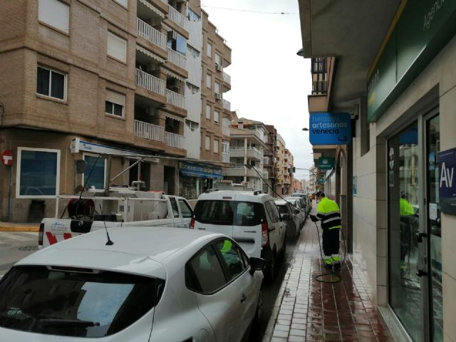 El ayuntamiento intensifica la desinfección y fumigación en Mazarrón, Puerto y pedanías contra el coronavirus, Foto 4