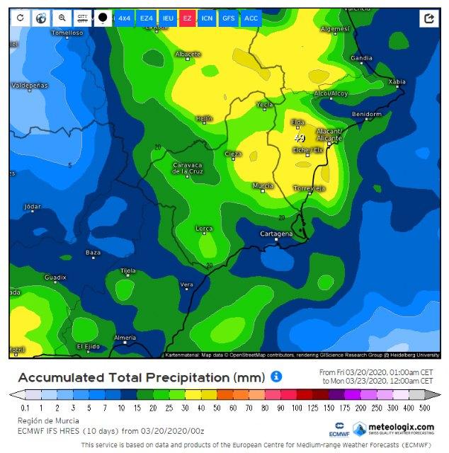 Se inestabiliza el tiempo durante los próximos días, según informa Protección Civil Totana - 3, Foto 3