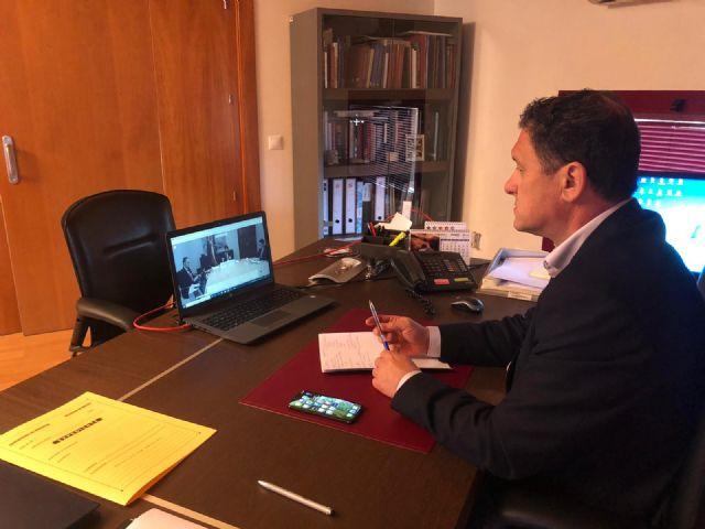El alcalde solicita al presidente de Murcia un presupuesto social con ayudas al empleo y economía local, Foto 1
