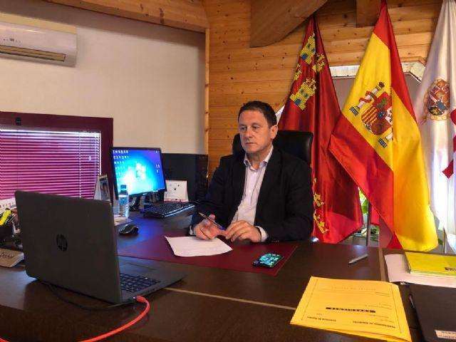 El alcalde solicita al presidente de Murcia un presupuesto social con ayudas al empleo y economía local, Foto 2