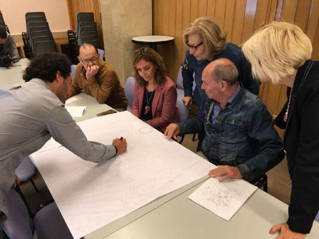 Los mayores de Santa Eulalia exponen sus ideas para crear un barrio con mayor calidad urbana - 2, Foto 2