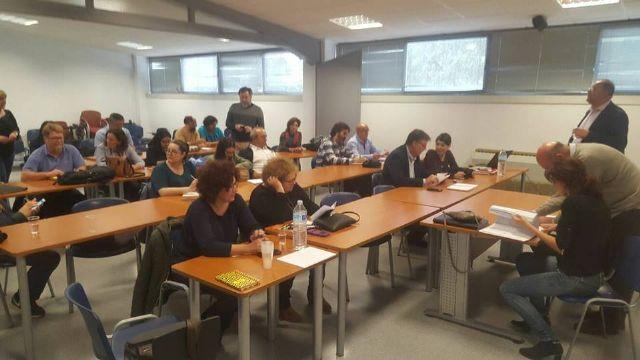 IU-Verdes se re�ne para revisar los acuerdos de gobernabilidad con el PSOE, Foto 2