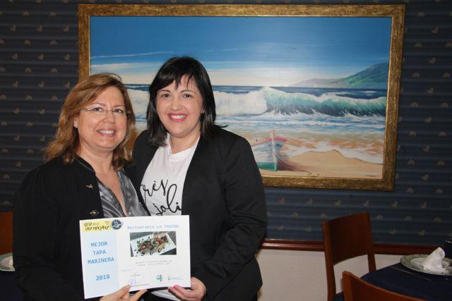 La barquita crujiente del restaurante La Traiña recibe el premio de Ruta de la Tapa Marinera 2018 - 1, Foto 1