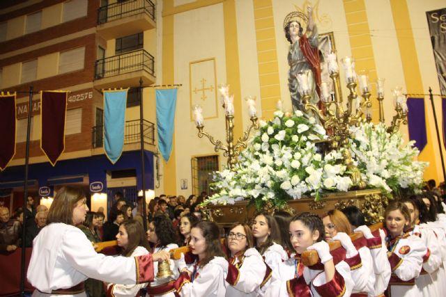 La Virgen de los Dolores mostró su esplendor  en la noche del Viernes Santo - 2, Foto 2