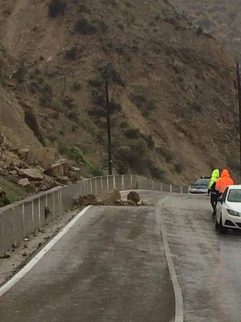 El PSOE denuncia que los vecinos de Ojós y Ricote tienen que dar un rodeo de 7 kilómetros porque el Gobierno regional no arregla la RM-522 - 1, Foto 1