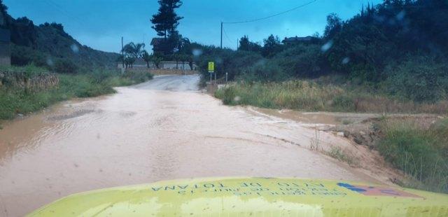 Protecci�n Civil atiende seis incidencias importantes durante el episodio de lluvias, Foto 6