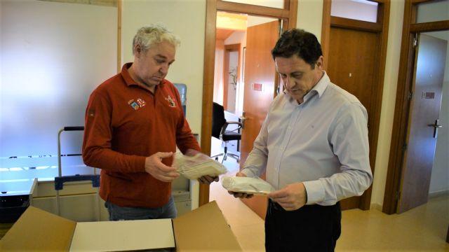 El ayuntamiento compra 6.520 mascarillas para trabajadores municipales, asociaciones y ciudadanos - 1, Foto 1