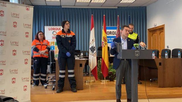 Ayuntamiento, Policía Local, Centro de Salud y Corporación Municipal de Protección Civil unidos para trabajar contra el coronavirus en Lorquí - 1, Foto 1