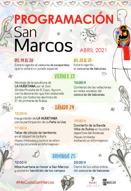 El próximo domingo, 25 de abril, como manda la tradición, se conmemora la festividad de San Marcos en Bullas, este año marcado por la pandemia y sin grandes celebraciones - 3, Foto 3