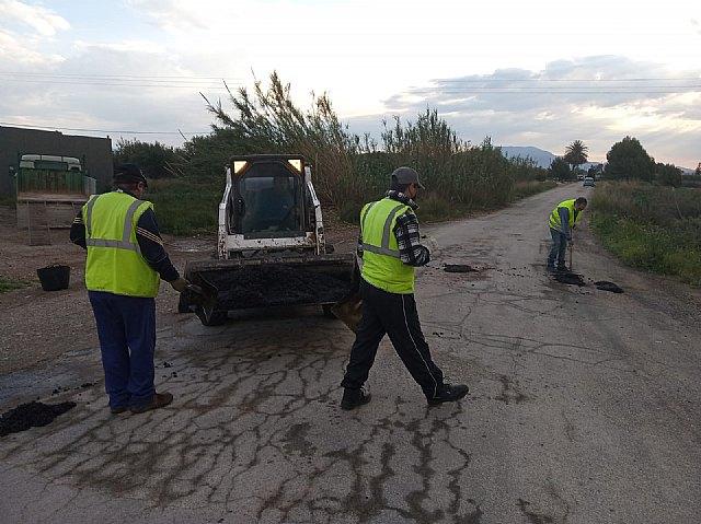 [Brigada municipal: trabajos del 20 de abril