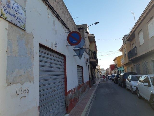 [En breve comenzarán las obras de saneamiento y cambio de calle a calzada en un tramo de la vía Romualdo López