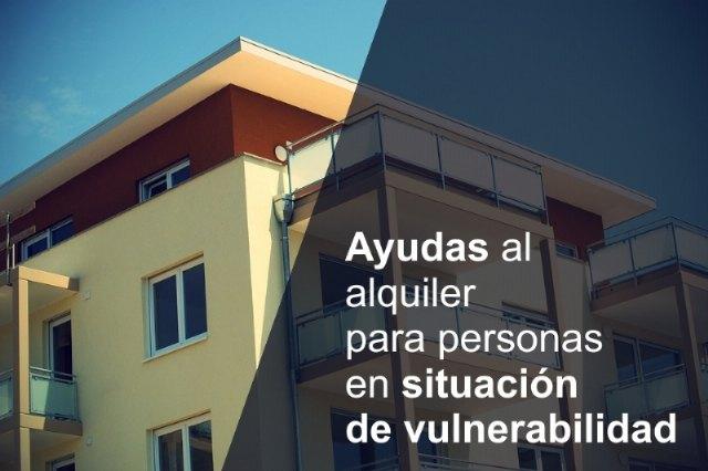 Abierto el plazo de solicitud de ayudas de alquiler para colectivos especialmente vulnerables - 1, Foto 1