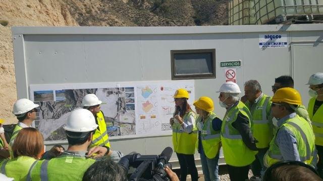 Jesús Cano: Hemos comprobado en Abanilla el trabajo del Gobierno para restablecer la legalidad medioambiental - 1, Foto 1