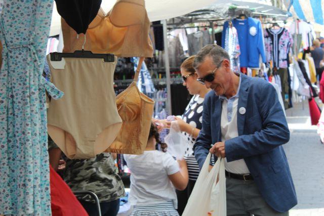 DEMOCRACIA PLURAL visita el mercado de Fortuna - 1, Foto 1
