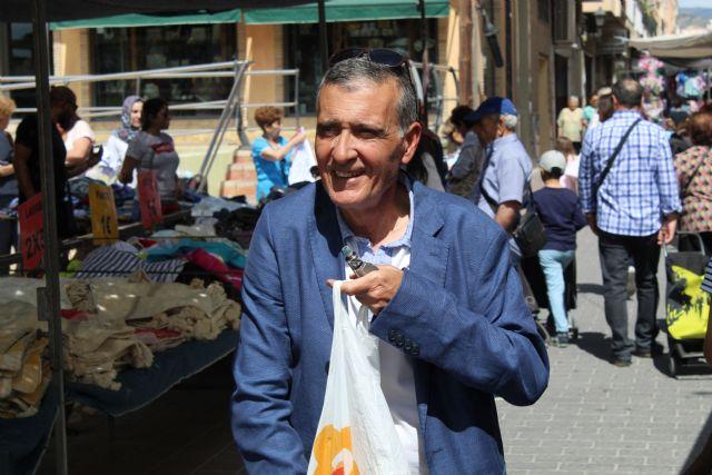 DEMOCRACIA PLURAL visita el mercado de Fortuna - 3, Foto 3