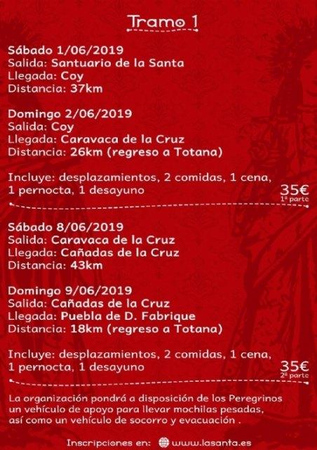 La Fundación La Santa promueve el Camino Eulaliense Totana-Mérida, que consta de 674 kilómetros divididos en treinta etapas - 5, Foto 5
