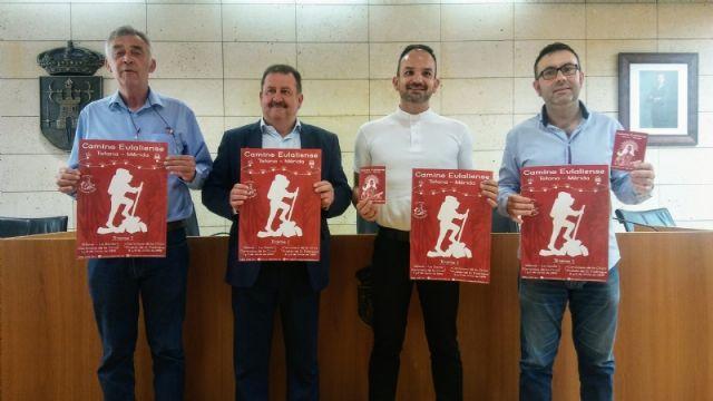 La Fundación La Santa promueve el Camino Eulaliense Totana-Mérida