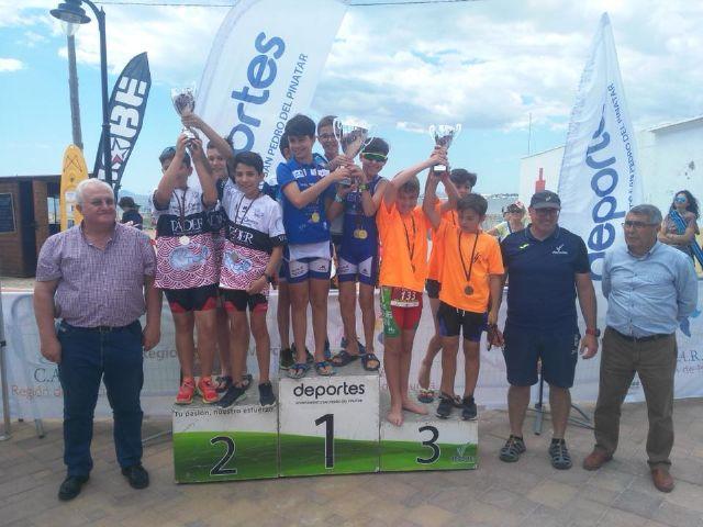 Más de 200 niños participaron en el Triatlón en edad escolar celebrado en San Pedro del Pinatar - 2, Foto 2