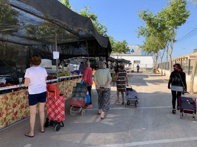 Los  mercadillos semanales reabren esta semana con nuevas ubicaciones en espacios acotados - 4, Foto 4