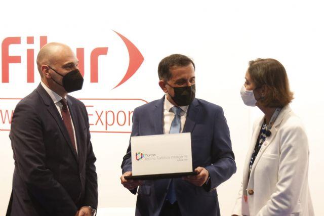 Murcia recibe en Fitur el distintivo de Destino Turístico Inteligente - 1, Foto 1