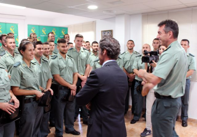 La Guardia Civil incorpora 40 nuevos agentes a la Región de Murcia, Foto 5