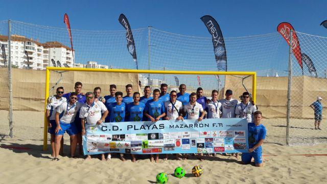 El Bala Azul FP se proclama subcampeón de la liga nacional de fútbol playa - 1, Foto 1