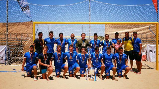El Bala Azul FP se proclama subcampeón de la liga nacional de fútbol playa - 2, Foto 2