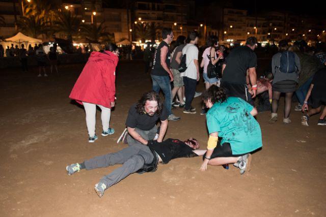 """""""Survival Zombie"""" ambienta la noche de Puerto de Mazarrón - 2, Foto 2"""