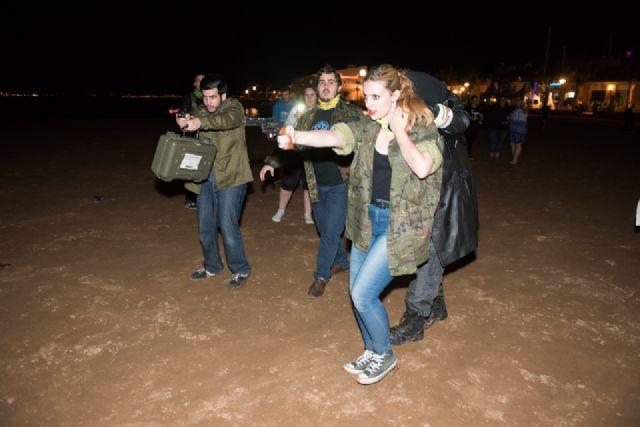 """""""Survival Zombie"""" ambienta la noche de Puerto de Mazarrón - 3, Foto 3"""