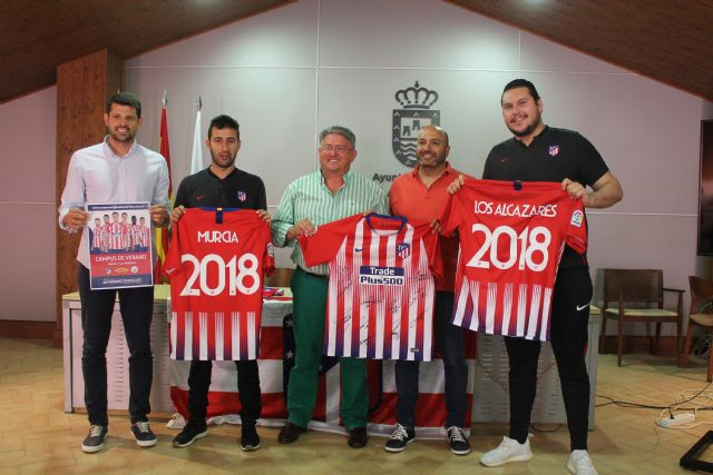 El Atlético Madrid impartirá su filosofía de entrenamiento en Los Alcázares - 1, Foto 1