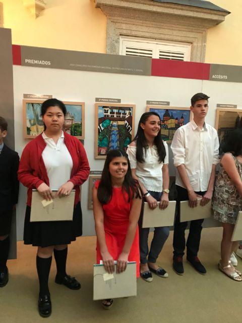La alhameña Laura Paz recibe el 2° premio del Concurso de Pintura de Patrimonio Nacional de manos de la infanta Elena, Foto 6