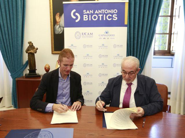 UCAM y CAPSA FOOD constituyen San Antonio Biotics - 1, Foto 1