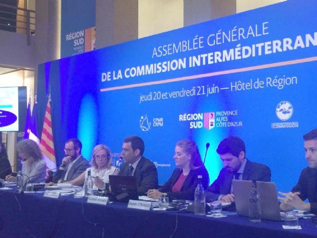 La Región participa en Marsella en la Conferencia de Regiones Periféricas Marítimas de Europa, Foto 1