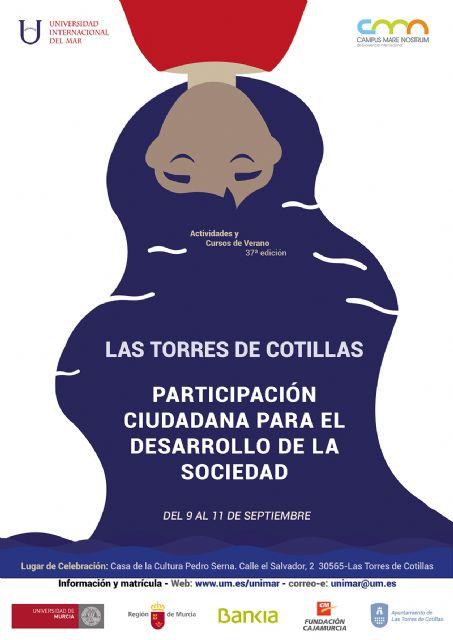 La Universidad del Mar propone en Las Torres de Cotillas un curso sobre el estado actual de la participación ciudadana - 1, Foto 1