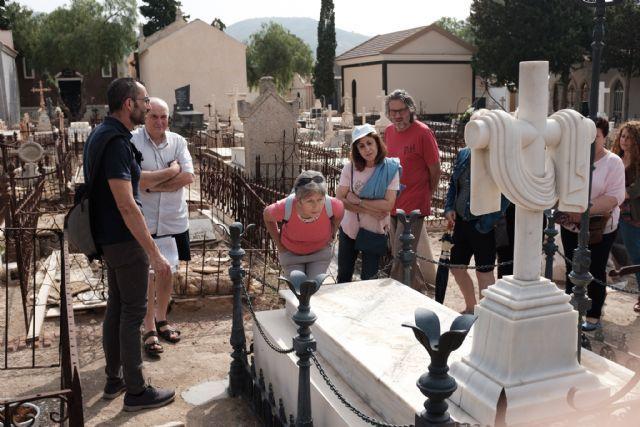 Las visitas guiadas a los cementerios de Mazarrón regresan este verano  al son de la música, Foto 1