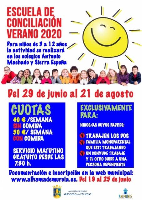 Abierto el plazo de inscripción en la Escuela de Conciliación Verano 2020, Foto 1