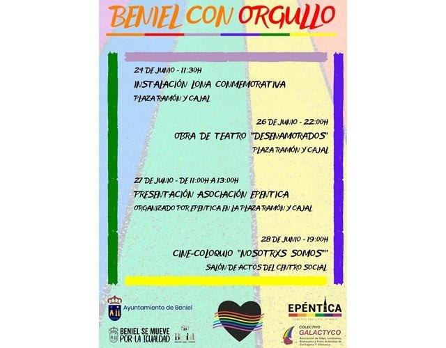 Programación conmemorativa Beniel con orgullo - 1, Foto 1