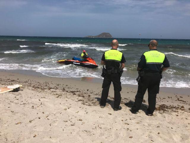 La Policía Local refuerza su presencia en playas - 1, Foto 1
