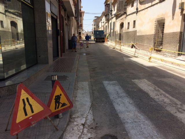 Se adjudica el contrato de las obras de pavimentación y renovación de las redes de abastecimiento de agua potable y saneamiento de las calles Cánovas del Castillo y Cañada Zamora hasta la calle del Barco - 1, Foto 1