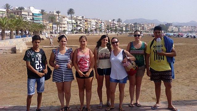 Los jóvenes del Proyecto Labor 2.0: garantía juvenil realizan una nueva actividad grupal, en la zona costera de Mazarrón - 1, Foto 1