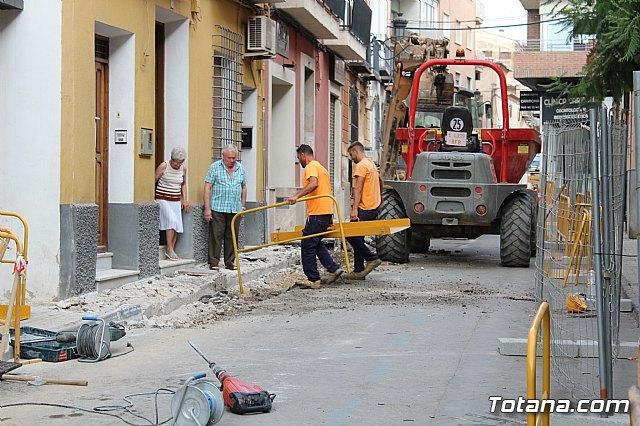 Las obras en la calle Juan XXIII procurarán mejorar la accesibilidad y dinamizar el ambiente comercial de esta vía - 1, Foto 1
