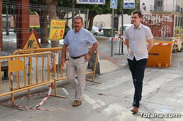 Las obras en la calle Juan XXIII procurarán mejorar la accesibilidad y dinamizar el ambiente comercial de esta vía - 2, Foto 2