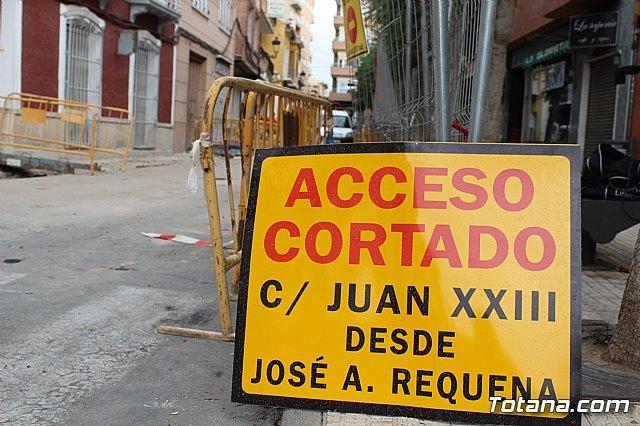 Las obras en la calle Juan XXIII procurarán mejorar la accesibilidad y dinamizar el ambiente comercial de esta vía - 3, Foto 3