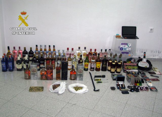La Guardia Civil esclarece varios robos en viviendas y comercios de Alhama de Murcia cometidos durante el confinamiento - 1, Foto 1