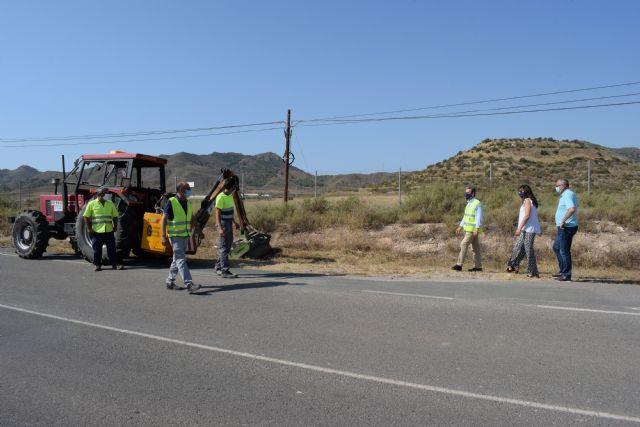Mejoran la visibilidad de todas las carreteras regionales que discurren por Mazarrón - 1, Foto 1