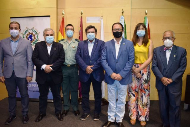 Mazarrón celebra una interesante jornada con información completa sobre la covid-19 relacionada con la seguridad laboral, Foto 1